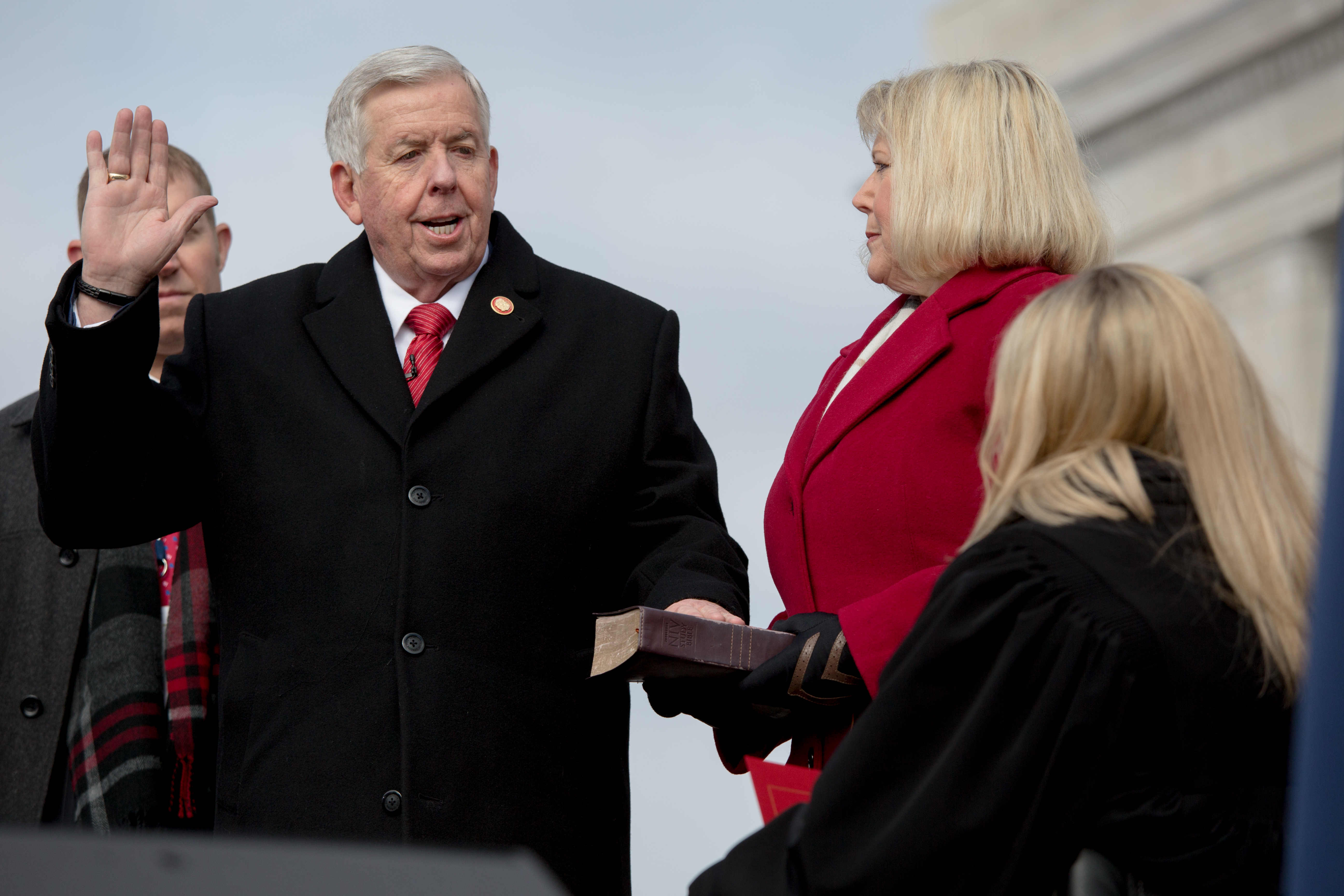 Parson, Missouri GOP Statewide Officials Embark On 4-Year Terms Amid Pandemic Calamity