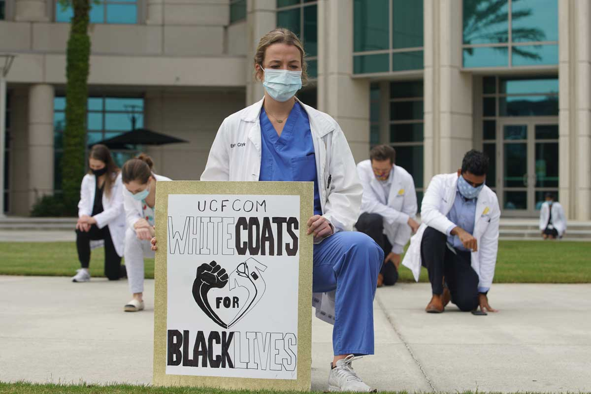 Events of 2020 Move Medical Students To Political Activism
