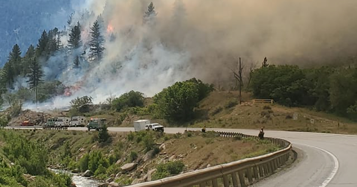 PM News Brief: Health Department Changes, Vaccinating Inmates & Massive Wildfires Burning