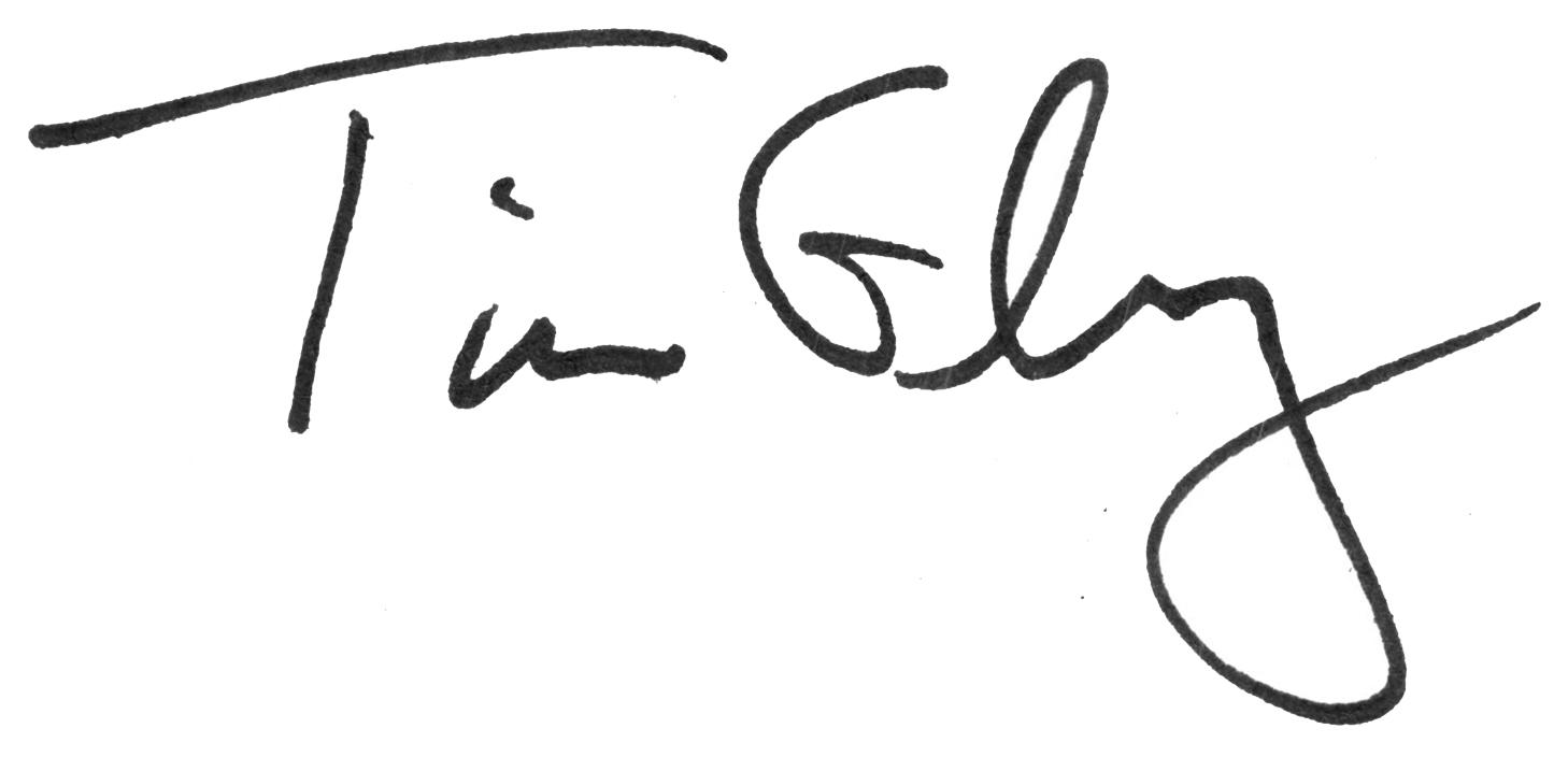 Tim Eby's signature
