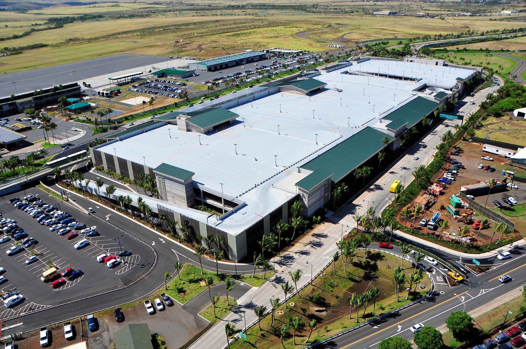 Maui Airport Opens 340m Facility For Car Rental Companies Hawaii Public Radio