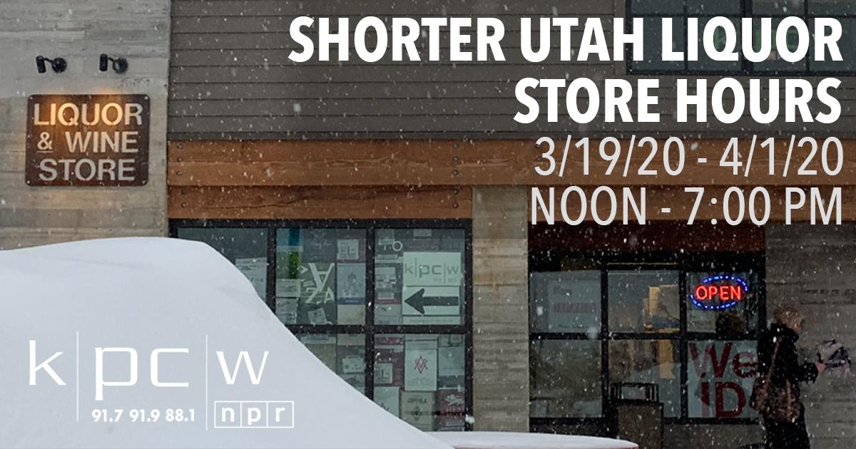 Shorter Utah Liquor Store Hours Start Tomorrow Thursday 3 19 20