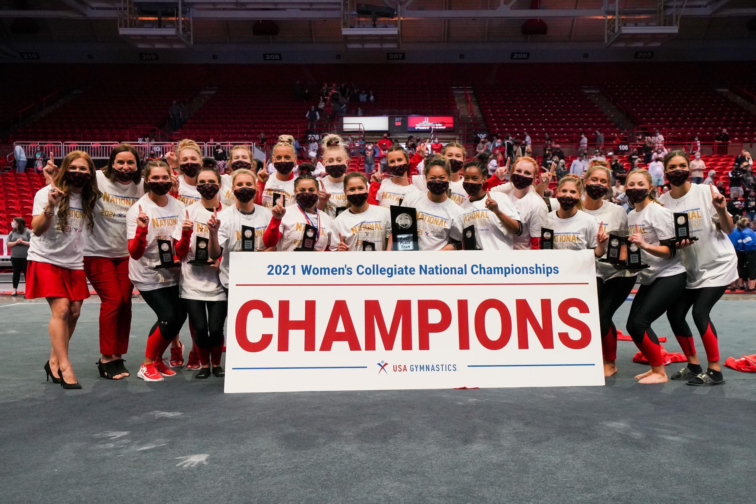 Two-Minute Drill: Redhawks Capture 2021 USA Gymnastics Women's Collegiate National Championship