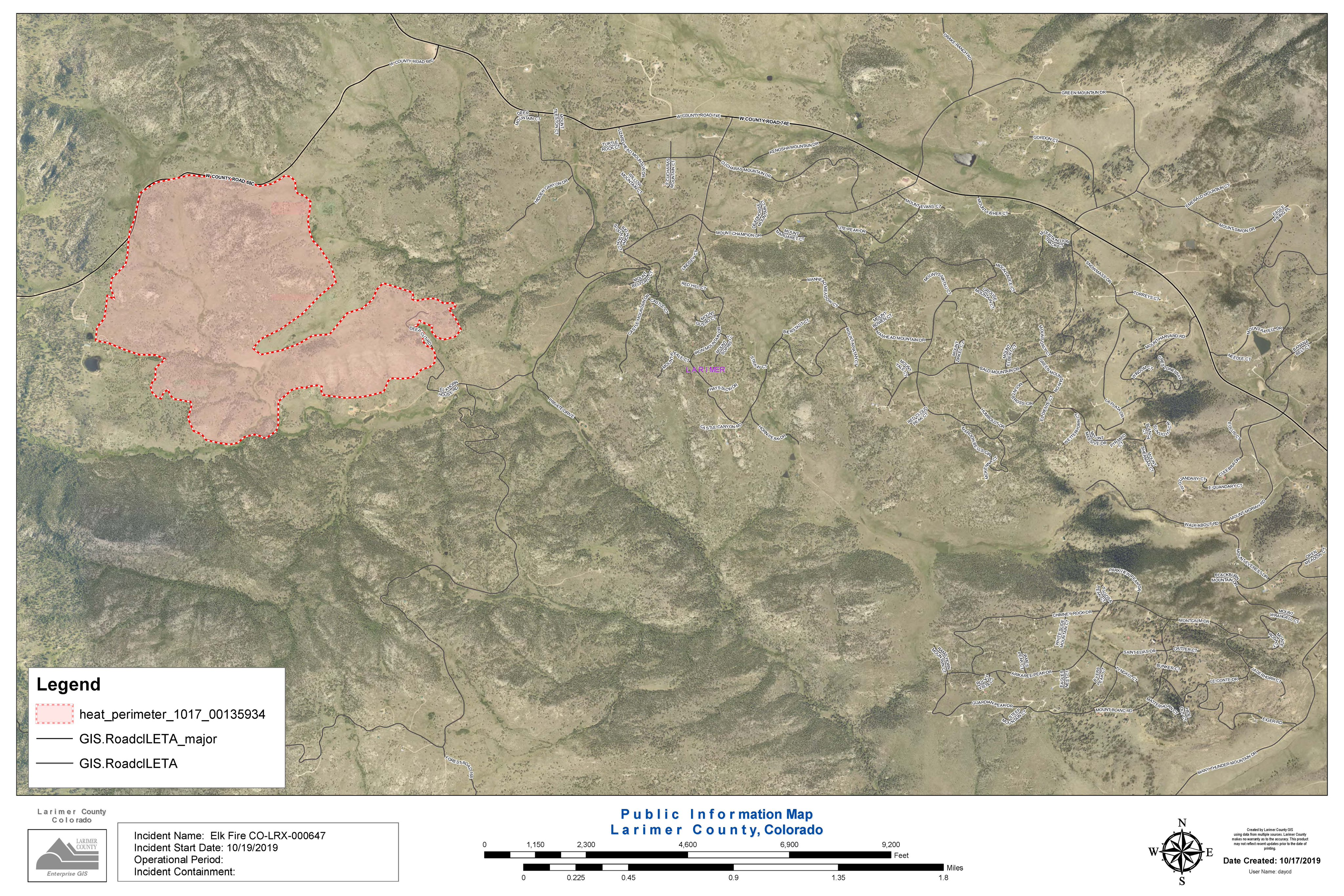 red feather lakes map Prescribed Burn Turns Into Wildfire Near Red Feather Lakes Kunc red feather lakes map