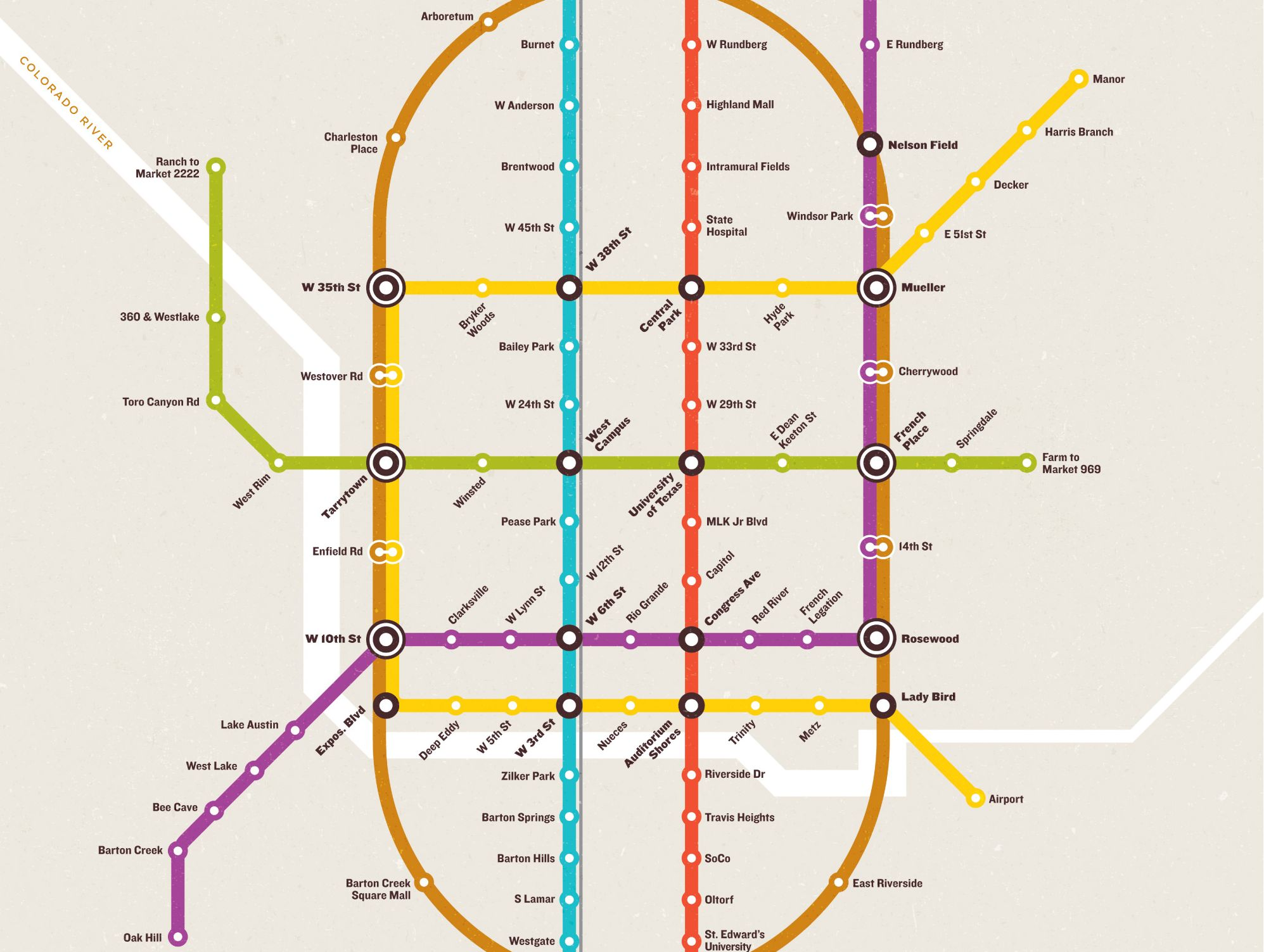 Subway Map Schedule.Why Can T Austin Have This Elaborate Subway System Kut