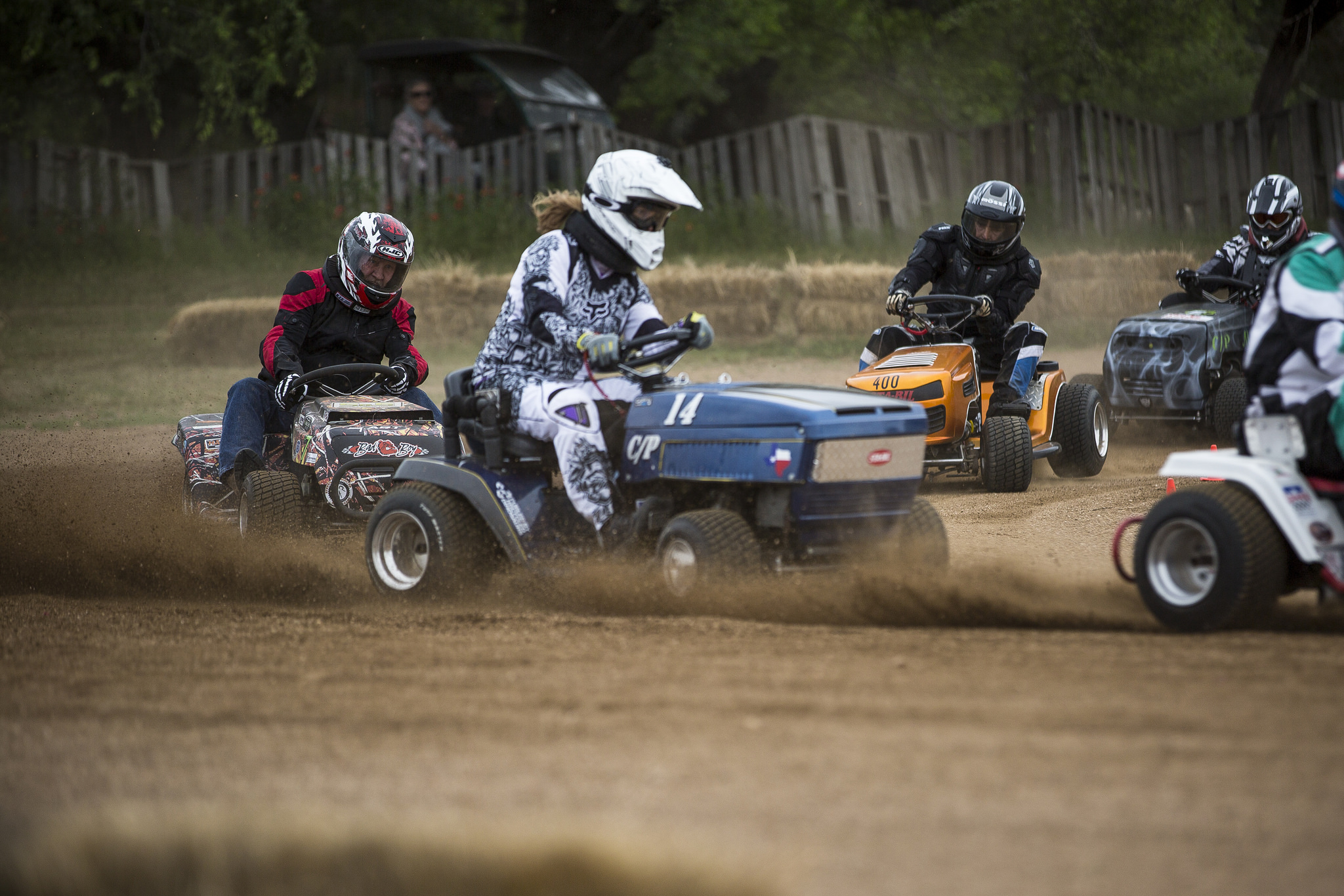 Ready, Set, Mow: Hill Country Lawn Mower Racers Take