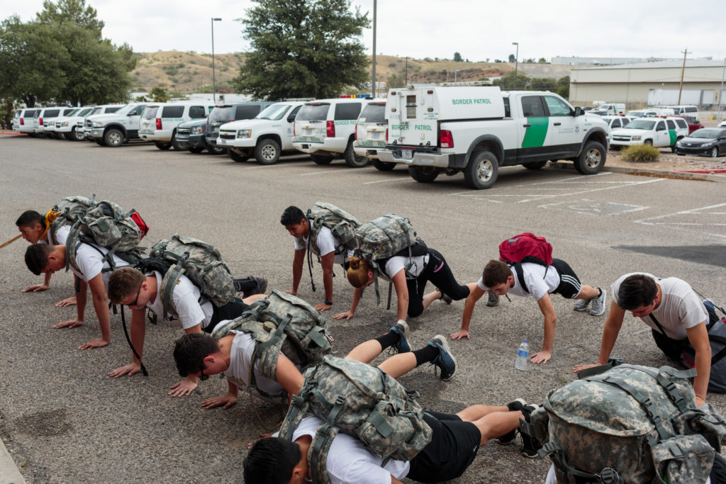 Border Patrol Youth Program Trains Children As Young As 14