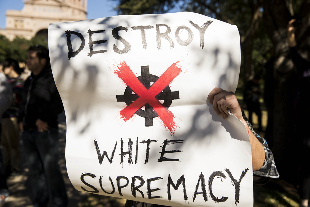 Report Finds Texas Led The Nation In White Supremacy Propaganda Incidents  In 2019 | KUT