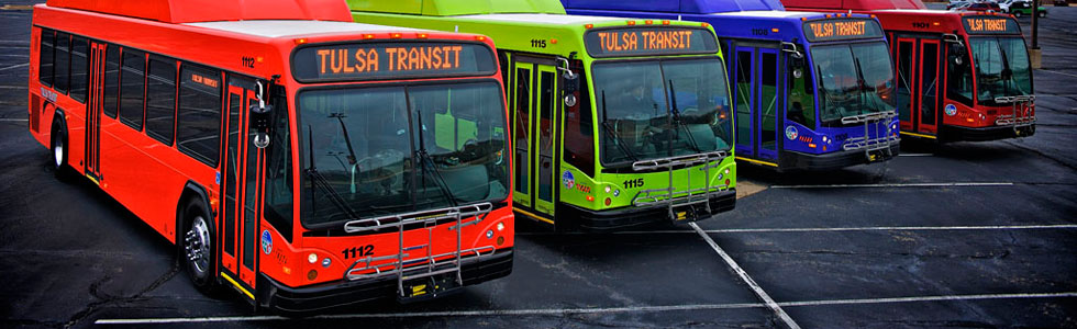 Tulsa Transit Will Be Free To Ride During First Week Of New Fixed Route System Public Radio Tulsa