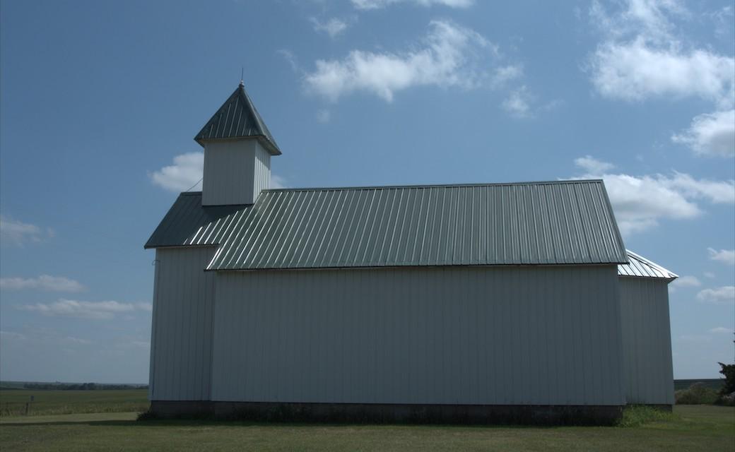 A Church Bound in Prairie Armor Holds a Tragic Tale