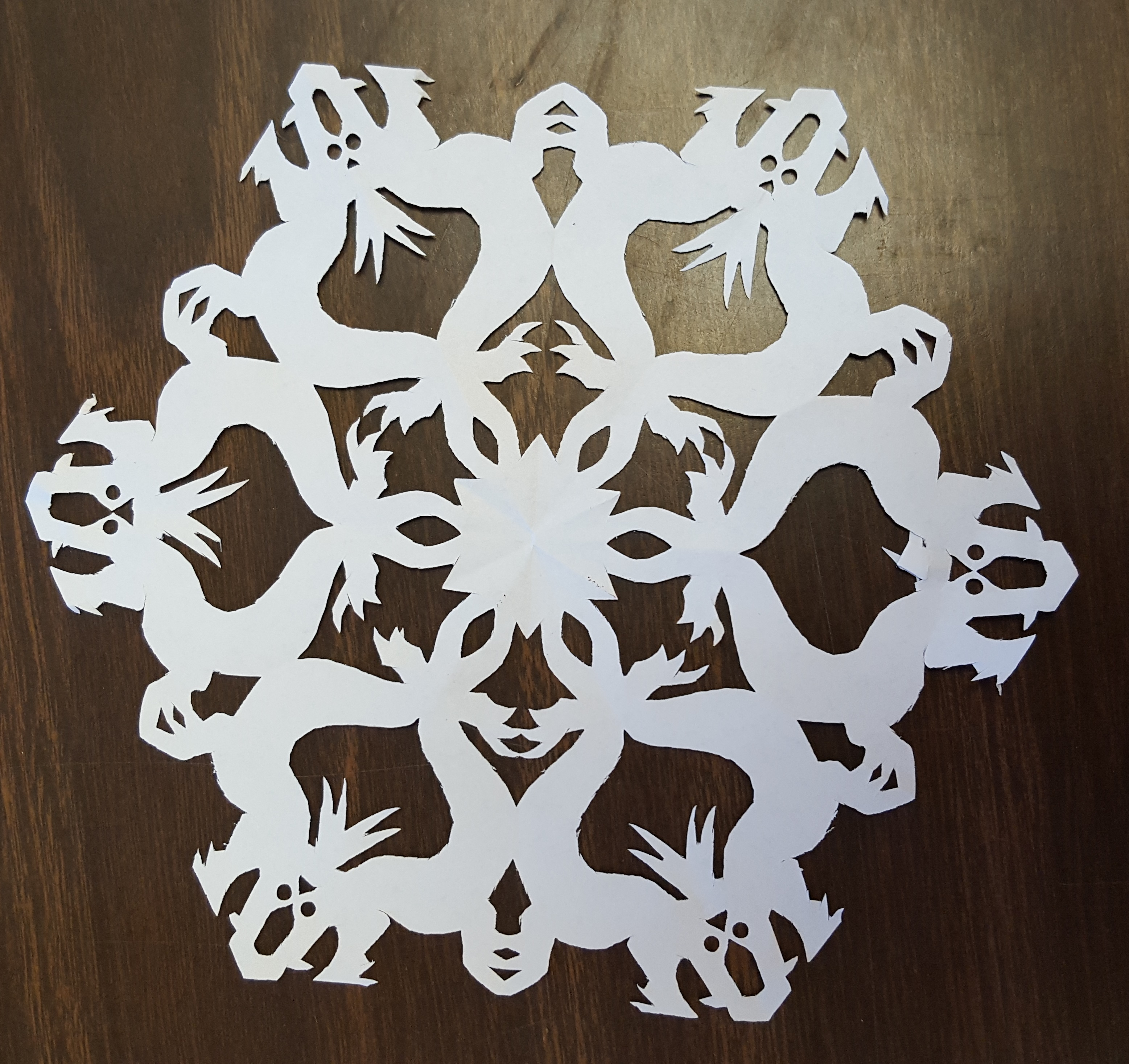 Learn how to make the perfect paper snowflake with St  Louis