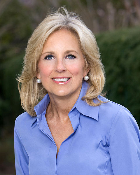Jill Biden speaks at campaign rally in Traverse City