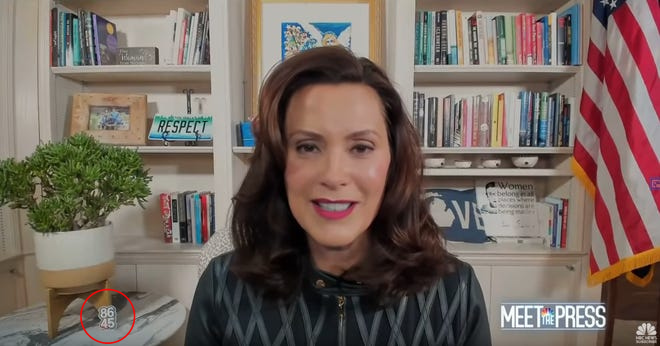 """Republicans criticized Whitmer for use of """"86."""" What does it actually mean?"""