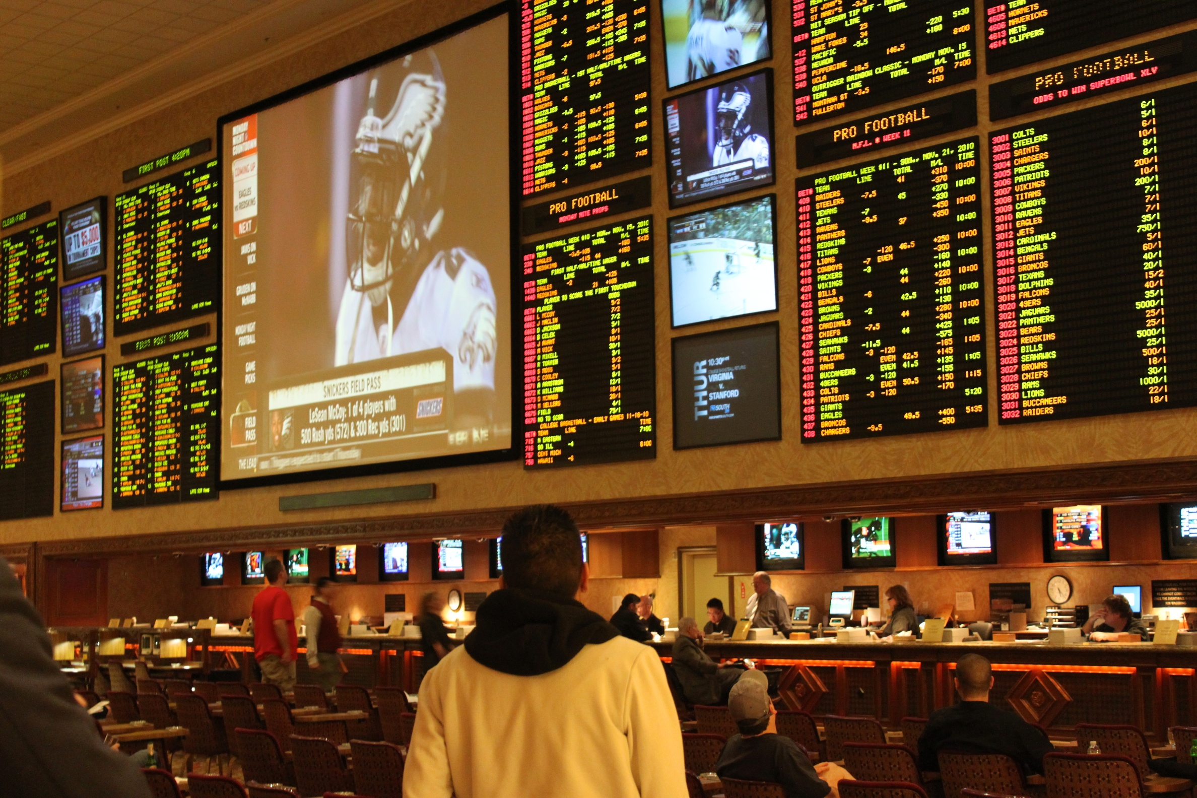 books supporting sports betting