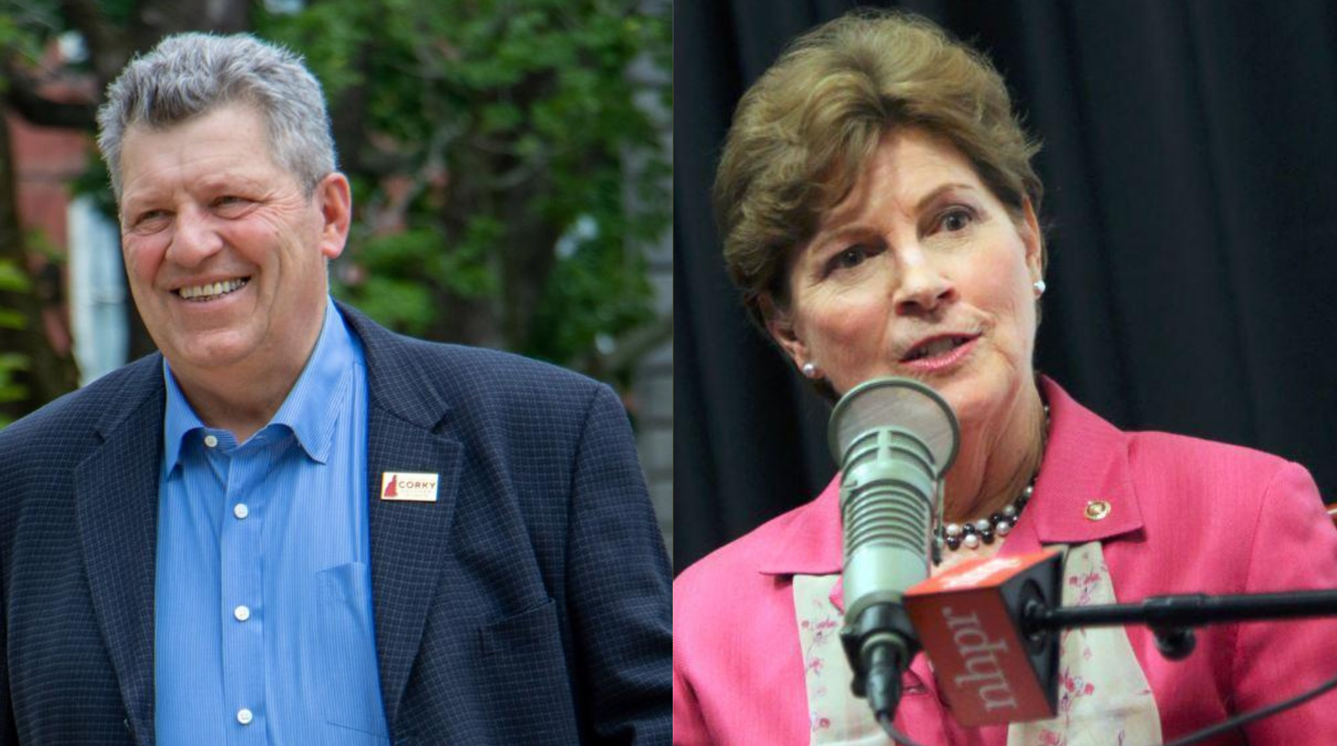 Watch or Listen: Corky Messner And Jeanne Shaheen Square Off On NHPR's U.S. Senate Debate