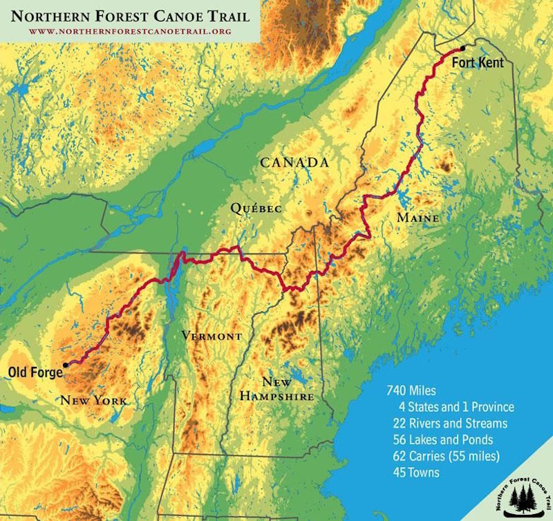 The Longest Canoe Trail In The Northeast Marks Its First Decade | Vermont  Public Radio