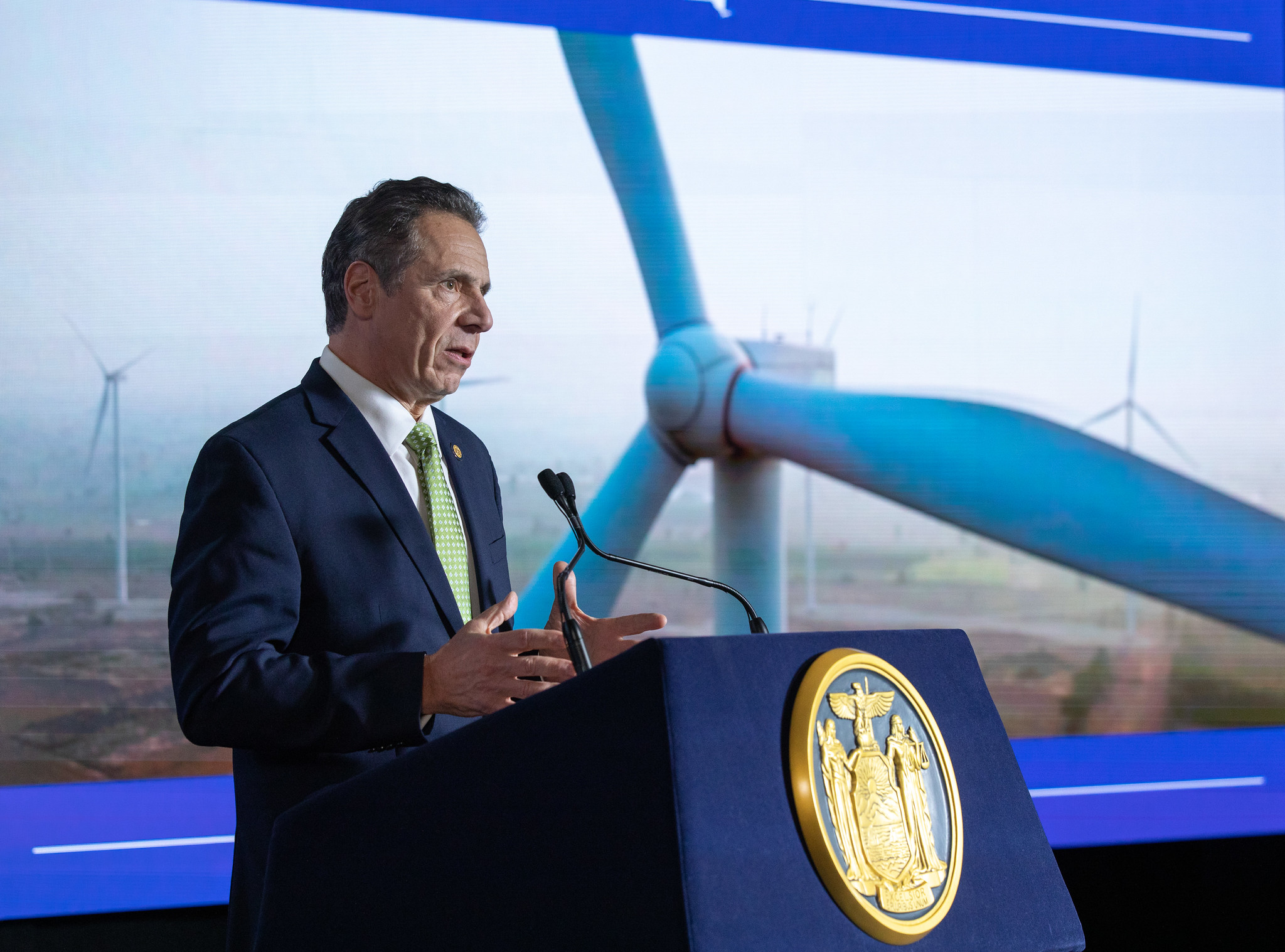 Gov. Cuomo Unveils Ambitious Green Energy Program For New York; Groups Praise Effort, Push For More