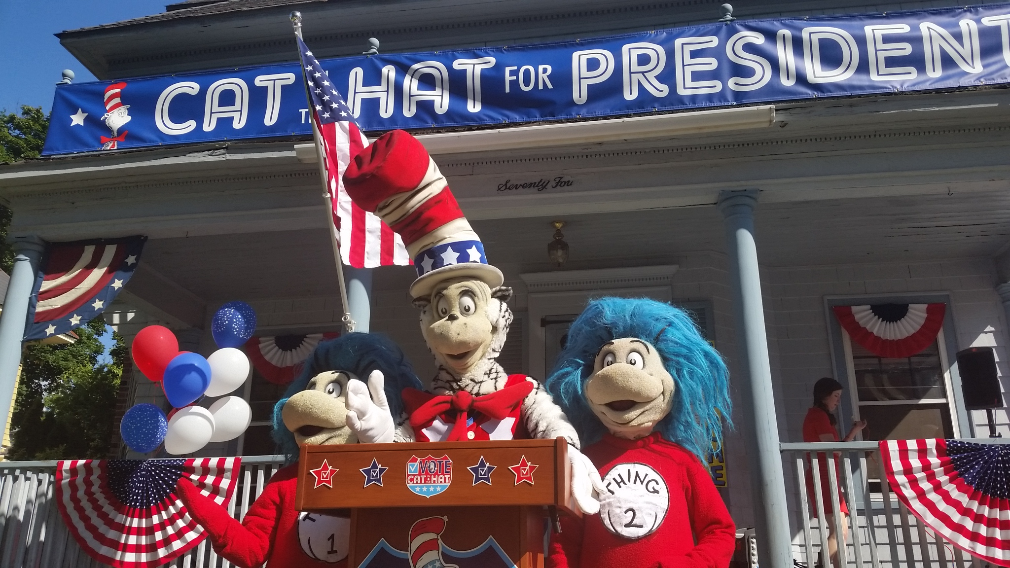 The Cat In The Hat Runs For President In New Children S Book Wamc