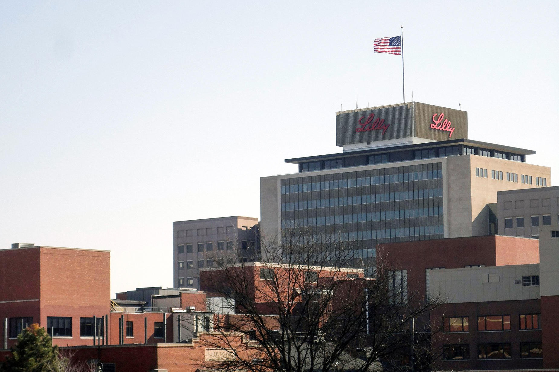 eli lilly campus map Eli Lilly Offers Drive Thru Covid 19 Tests For Health Care Workers eli lilly campus map