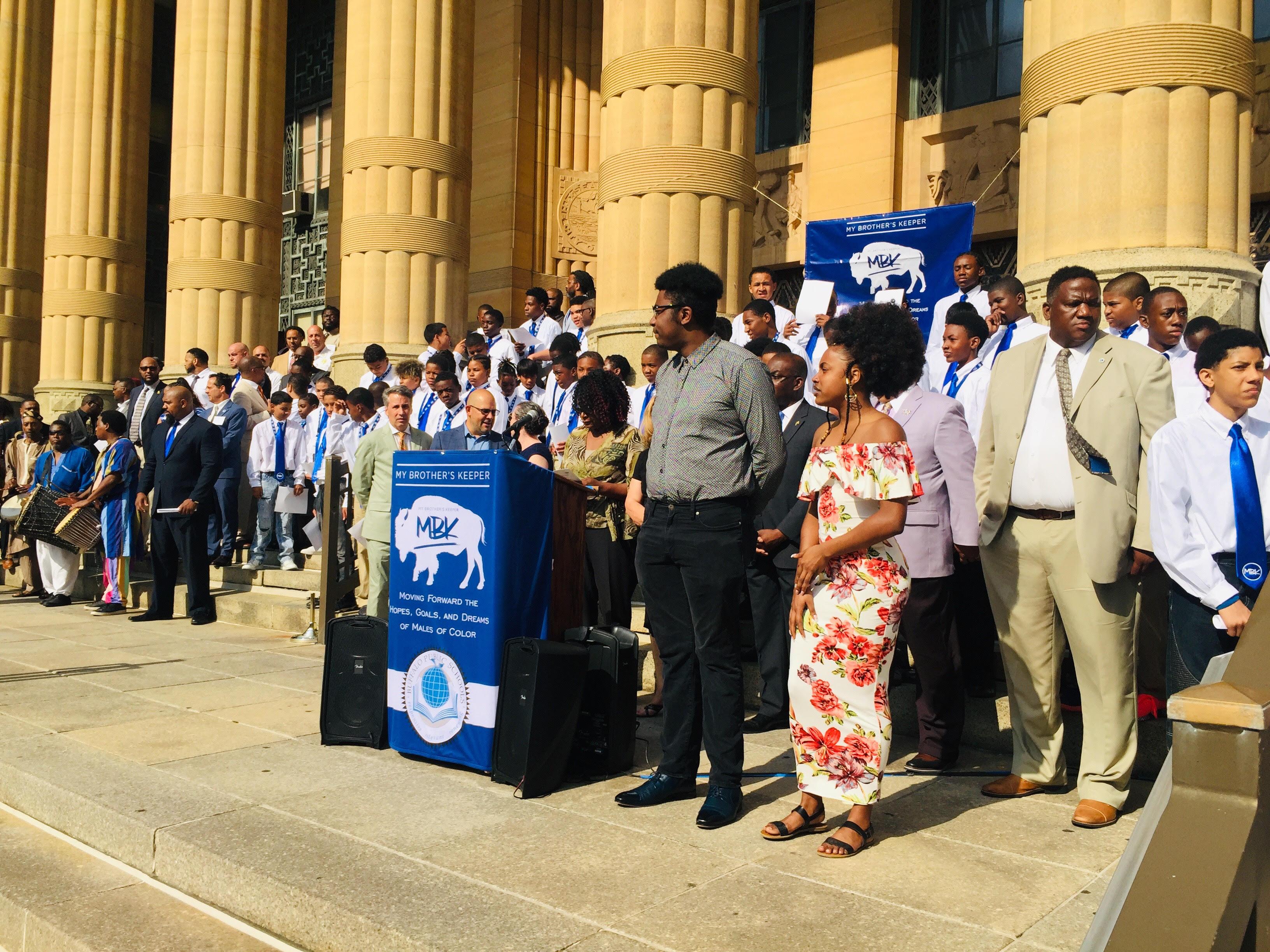 Mayor's proclamation begins year-long mentor program | WBFO