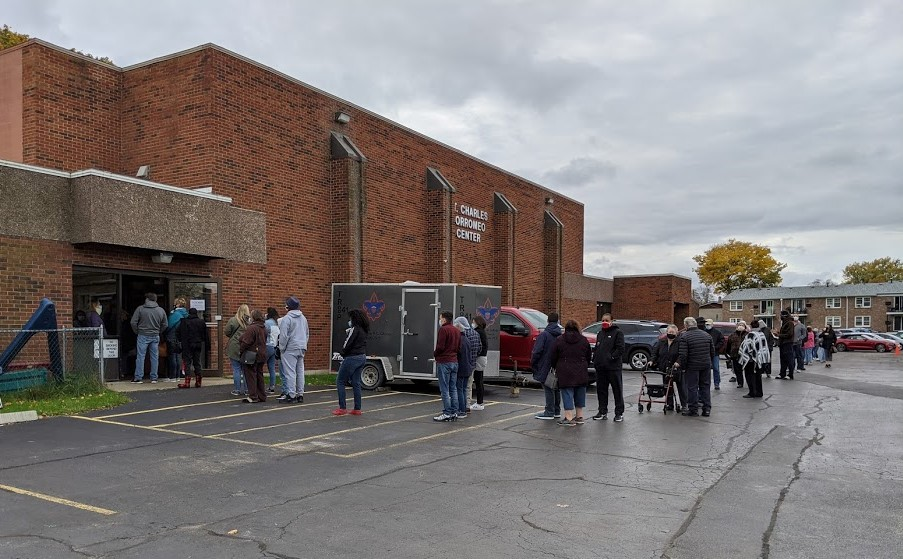 More than 28,000 take advantage of first weekend of early voting in Erie County