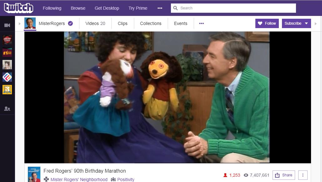 Mister Rogers Online Marathon Captivates Viewers Worldwide 90 5 Wesa