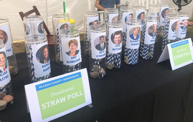 Mclean County Fair 2020.Straw Poll Mclean County Democrats Undecided But