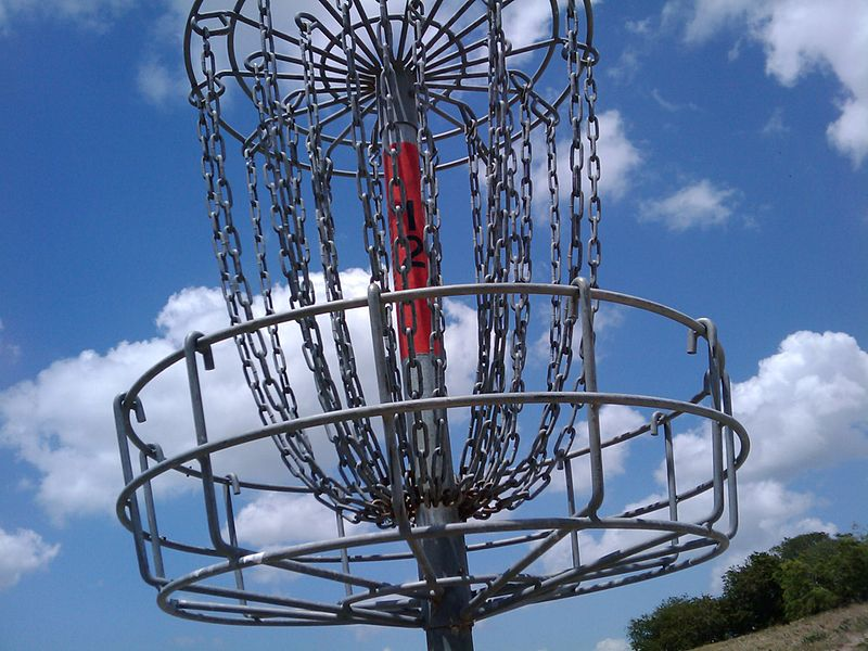 Disc Golf Course Being Built At Park Near Power Plant Site Wgvu