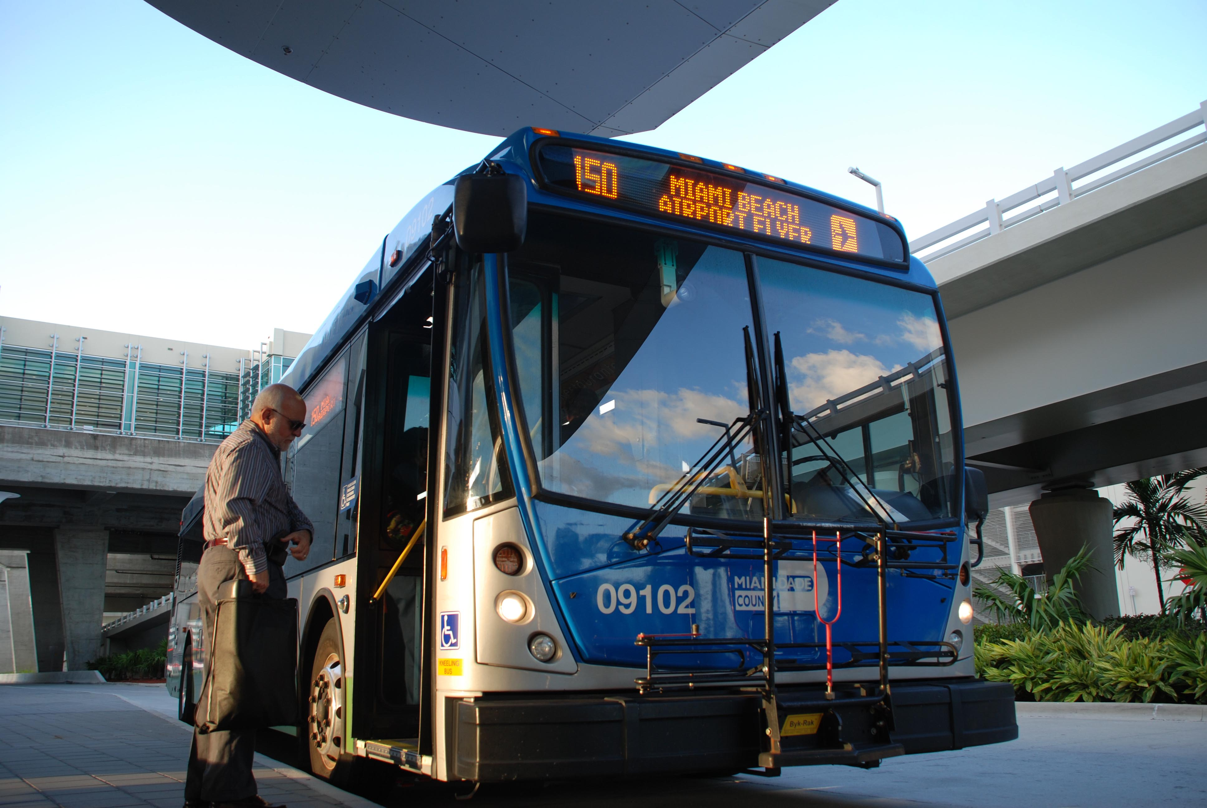 all in a day's work with miami dade transit bus driver