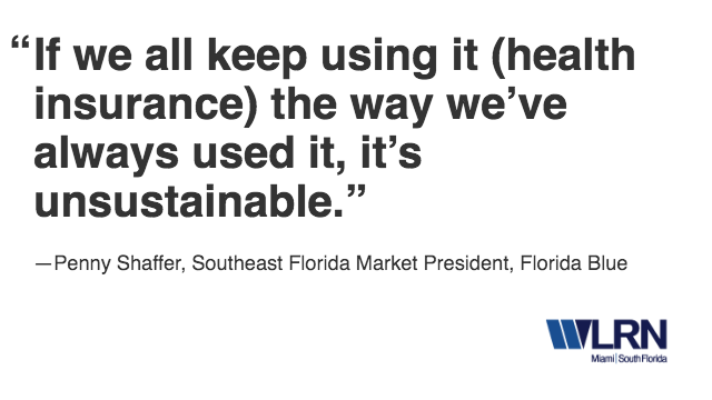 Health Insurance Florida >> The Cost Of Health Coverage In The Sunshine Economy Wlrn