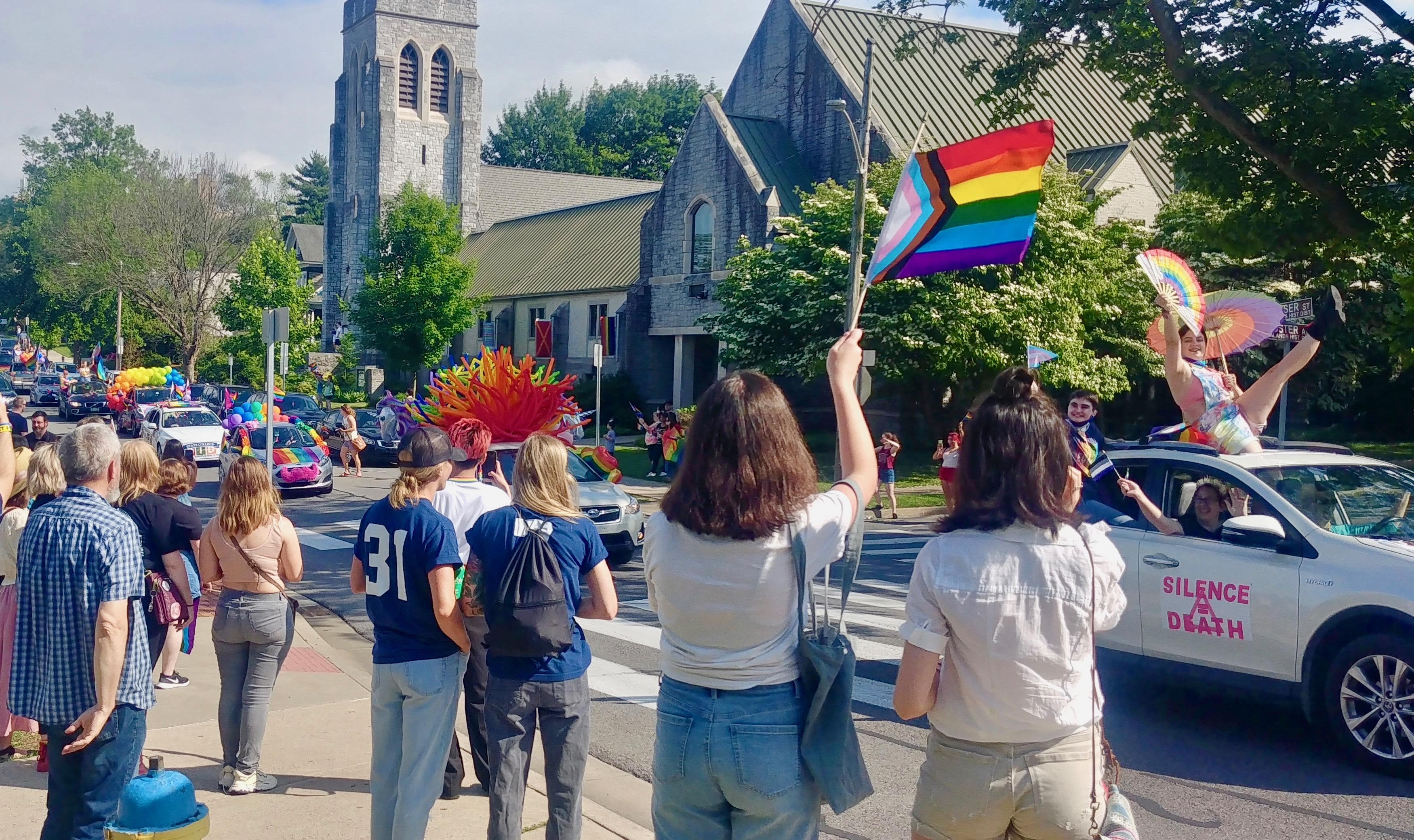 State College Celebrates Pride With Car Caravan
