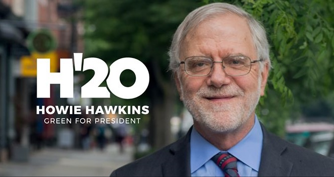 Hawkins disappointed in recent rulings removing his name from presidential  ballot in key states   WRVO Public Media