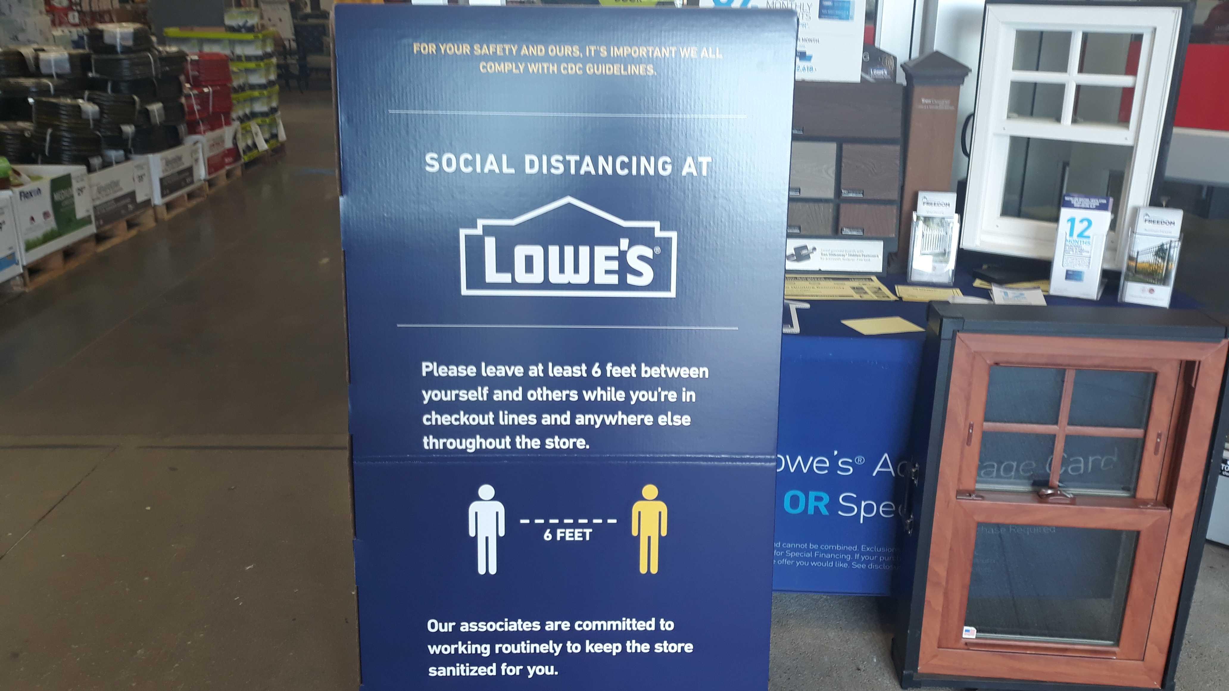 Lowe S To Limit Customers Amid Coronavirus Pandemic Wunc