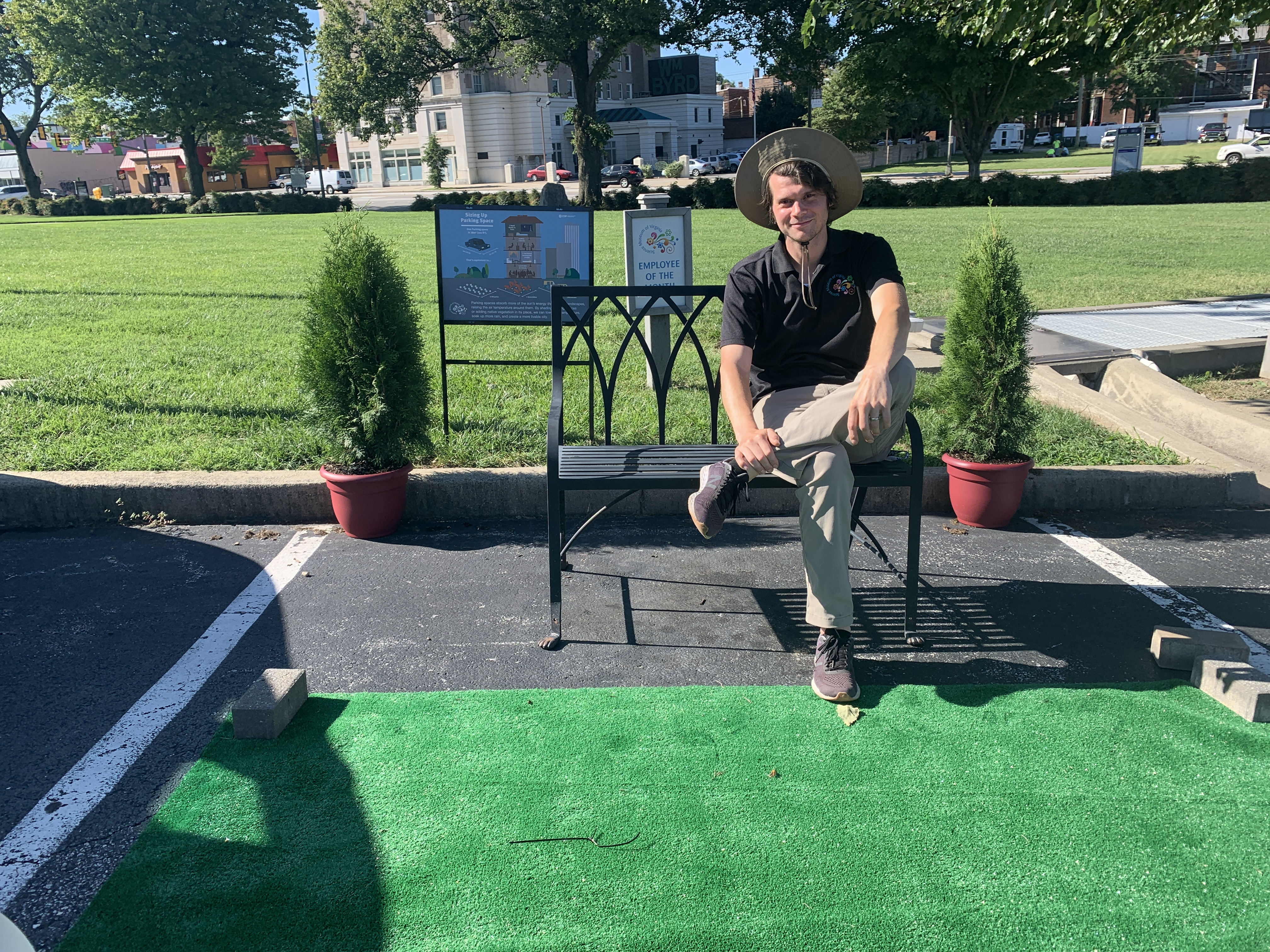 A Parking Space Becomes a 'Parklet' | WVTF